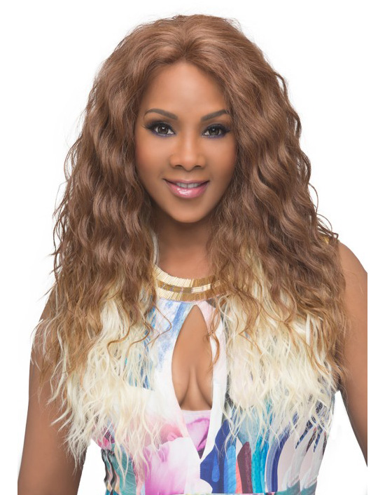 Vivica a fox brie new futura fiber cap wig in color