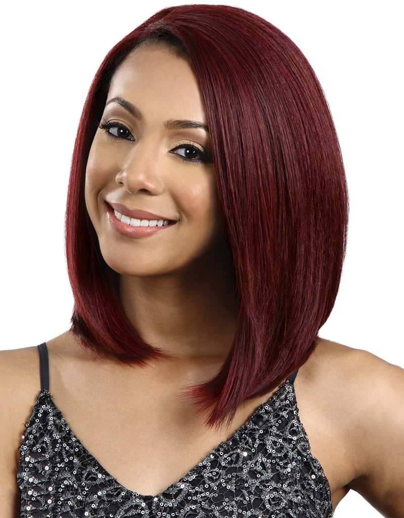 Bobbi Boss Lace Front Wig Mlf74 Copper