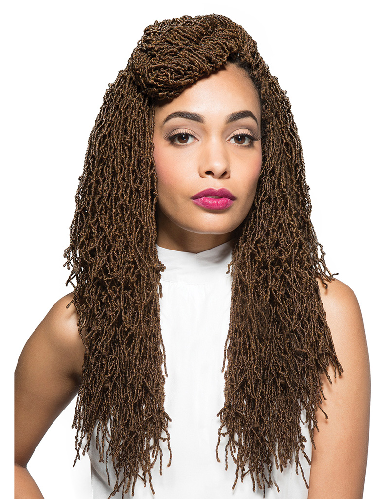 Home BRAIDS Bobbi Boss - Crochet Braid Micro Locs 18