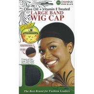 Donna - Large Band Wig Cap 22201