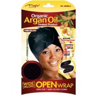 Magic - Organic Wide Velcro Open Wrap (#3008BLA)