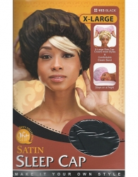 Qfitt - X-Large Satin Sleep Cap 153