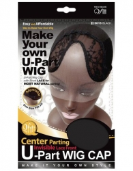 Qfitt - Center Parting U-Part Wig Cap 5015