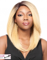It's a wig Iron Friendly Swiss Lace Front wig KONIS