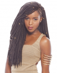 Janet Collection - 2X Mambo Faux Locs 18""