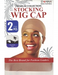Donna - Stocking Wig Cap 2 pcs 22111 (NATURAL)