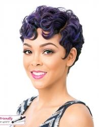 It's a wig Iron friendly wig NUNA