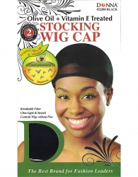 Donna - Organic Stocking Wig Cap