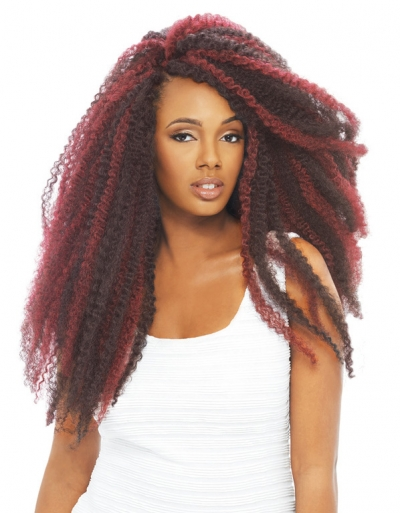 Janet Collection - Noir Afro Twist Braid