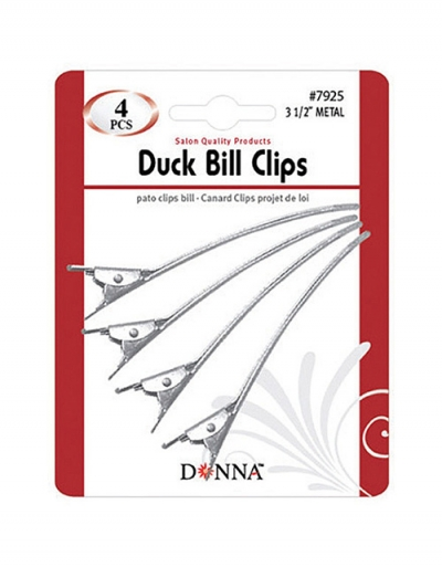 Duck bill clips