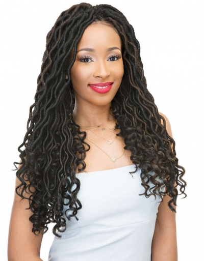 Janet Collection - 2X Wave Bohemian Locs 18