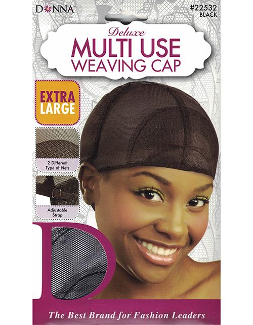 Donna Multi Use Weaving Cap 22532 Black