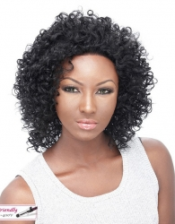 It's a wig Iron Friendly Lace Front wig ETERNITY