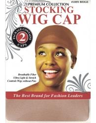 Donna - Stocking Wig Cap 2 pcs 11051 (BEIGE)
