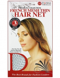 Donna - French Mesh Thin Hair Net 11081
