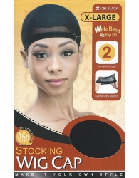 Qfitt - Stocking Wig Cap X-Large 2 pcs 126