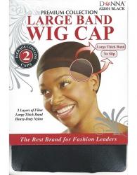 Donna - Large Band Wig Cap 2 pcs 22031