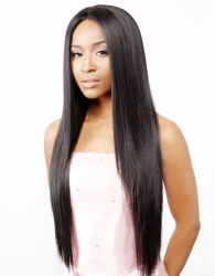 R&B collection Human Hair Blend Lace Front Wig HL-OMAHA