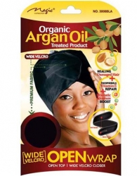 Magic - Organic Wide Velcro Open Wrap (#3008BLA)