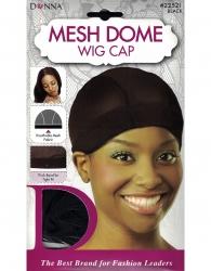 Donna - Mesh Dome Wig Cap 22521 (BLACK)
