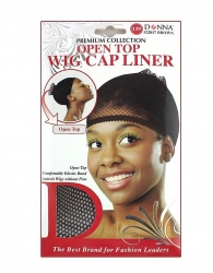 Donna - Open Top Wig Cap Liner #22037 (BROWN)
