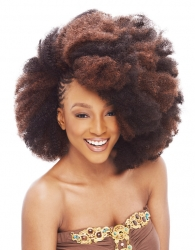 Janet Collection - Noir 2X Afro Kinky Bulk 24""