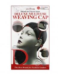 Donna - Multi Use Weaving Cap #11086 (BLACK)