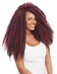 Janet Collection - Noir 5X Afro Twist Braid