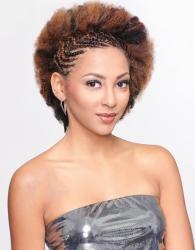"Beauty Elements - Realistic Afro Kinky Bulk 12"""