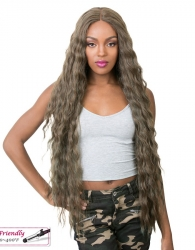 It's a wig Iron Friendly Swiss Lace Front wig VALERIA