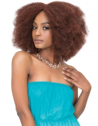 Janet Collection - Noir 2X Afro Kinky Bulk 14""