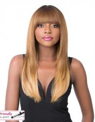 It's a wig Iron friendly wig SHERRY