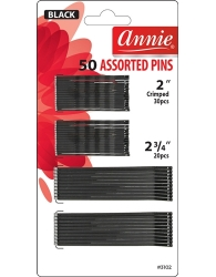 Annie - 50 Assorted Pins #3102