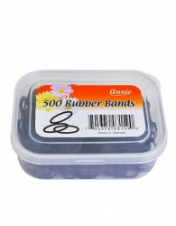 500 pcs Rubber Bands #263 (Black)