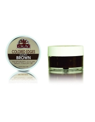 Okay - Colored Edges Dark Brown 0.5 oz