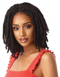 Outre - 4 X 4 Lace Front Wig Straight Bomb Twist 14""