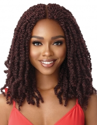 Outre - 4 X 4 Lace Front Wig Straight Bomb Twist 18""