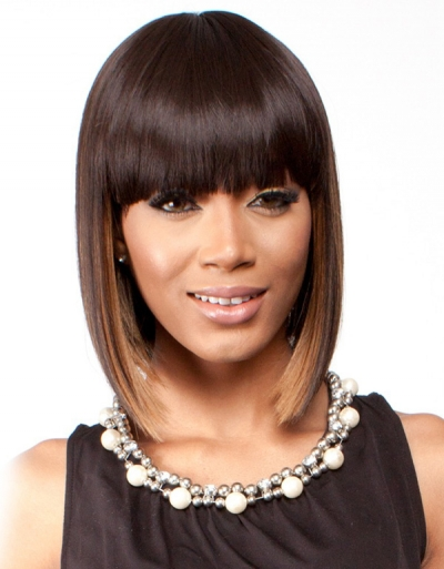 R&B collection Human Hair Blend Wig H-IRENE