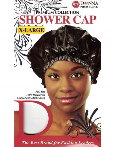 Donna - Shower Cap X-Large 11028 (BALCK)