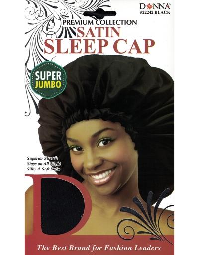 Donna - Satin Sleep Cap Super Jumbo