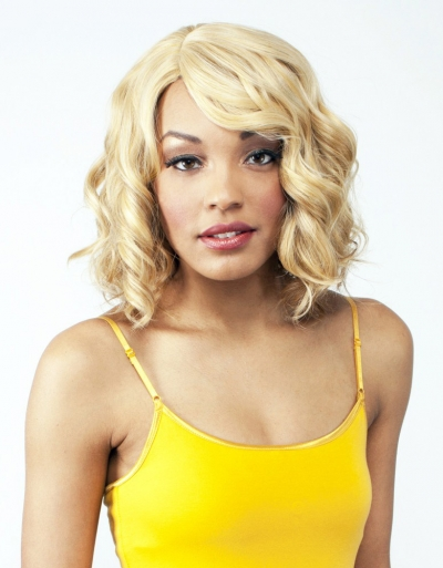 R&B collection Human Hair Blend Wig H-BEYONCE