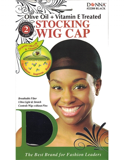 Donna - Organic Stocking Wig Cap