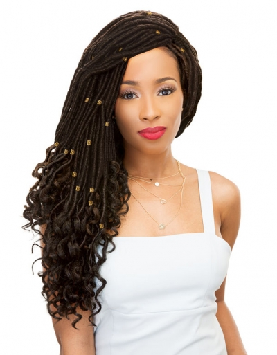 Janet Collection - 2X Mambo Goddess Locs Straight 20