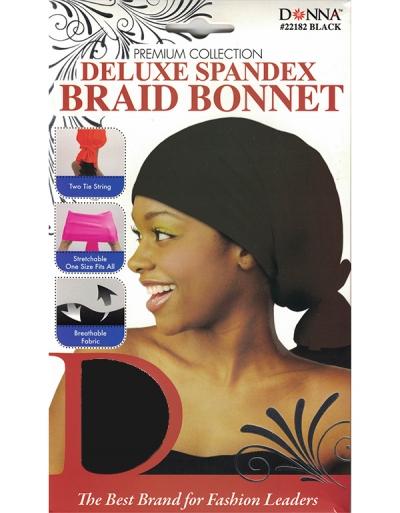 Donna - Spandex Braid Bonnet 22182