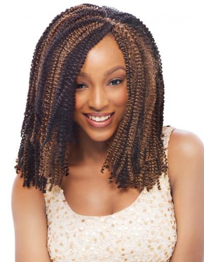 """Janet Collection - Noir 2X Afro Twist Bulk 26"""""""