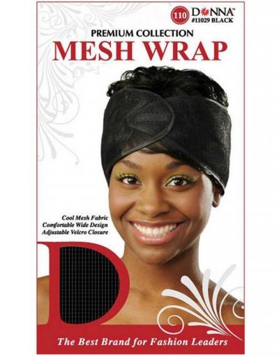 Donna - Mesh Wrap 11029 (BLACK)