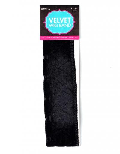 Velvet Wig Band