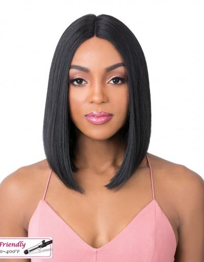 It's a wig Quality wig Q part ALEXIS