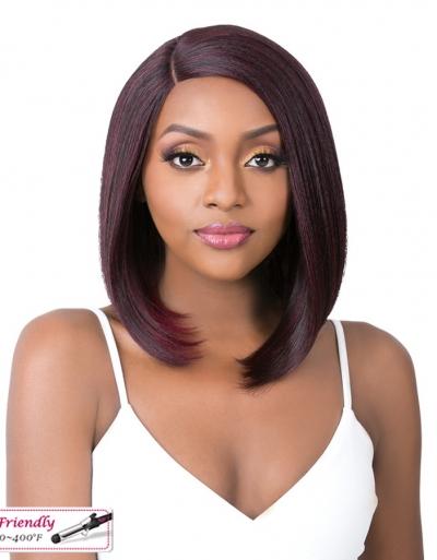 It's a wig Iron friendly wig DAMARISS