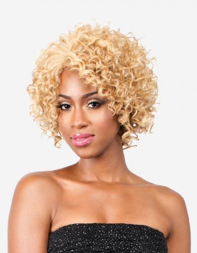 R&B collection Human Hair Blend Wig H-LEE